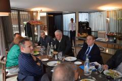 Déjeuner débat Jean Baklouti - ancien de la DST - avril 2013