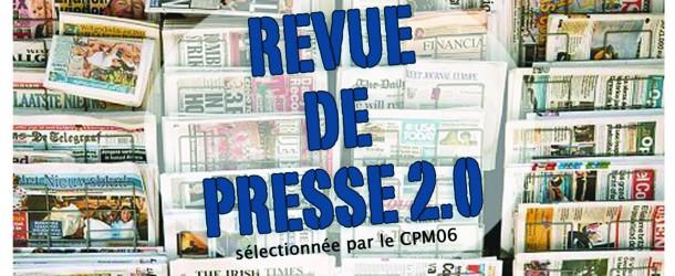 Revue de presse 2.0 de la semaine – 18/03/16