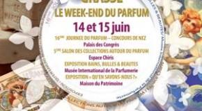 CONFÉRENCE DE PRESSE: WEEK END DU PARFUM à GRASSE – 12/06