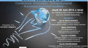 CONFERENCE: INNOVATION-ENTREPREUNARIAT «NOUVEAUX BUSINESS MODELES» – 26/06
