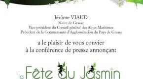 CONFERENCE DE PRESSE FETE DU JASMIN 2014 GRASSE – 25/07