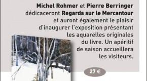 DEDICACE-EXPOSITION « REGARDS SUR LE MERCANTOUR » – 26/07
