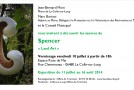 INVITATION VERNISSAGE EXPOSITION « LAND ART » DE SPENCER – 18/07