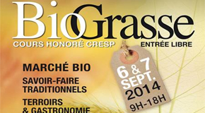 CONFERENCE DE PRESSE POUR LE LANCEMENT DE BIO GRASSE – 01/09