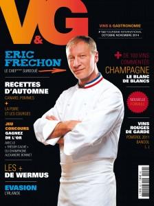 COUVERTURE de Vins&Gastronomie magazine 152