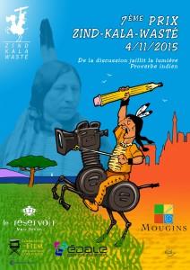 Le prix Zind-Kala-Wasté le 4 novembre 2015 à Paris et Mougins