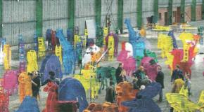 Les 140 sculptures de l'Arche de Noé Climat à Aix en Provence – jusqu'au 01/11
