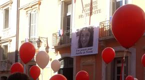 L'hommage du Club de la presse Méditerranée 06 à Aurélie de Peretti.
