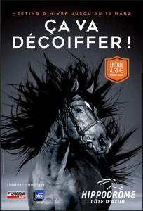 affiche cheval