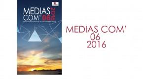 Soirée de présentation du MEDIAS COM'06 2016 – 24/03