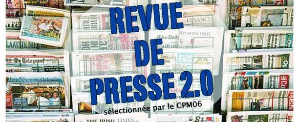 Revue de presse 2.0 de la semaine 08/04/16