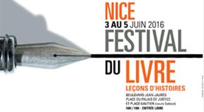 festival du livre – leçons d'histoires – 03>05/06 – Nice