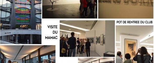 Visite du MAMAC et pot de rentrée du Club le 29/09/16