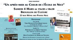 """IP Maison d'édition Baie des anges : """"Un après-midi au Coeur de l'école de Nice"""" 04/03 de 15h30 à 18h30"""