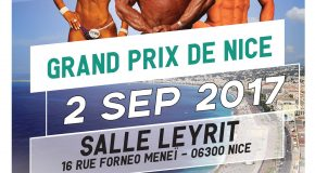 Grand Prix Open de la Ville de Nice en Musculation, Fitness et Body Building – 02/09