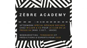 ATELIER Les réseaux sociaux en 2018 : tendances et prédictions d'experts – 03/10 à 18h30