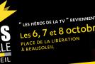 CP Ville de Beausoleil : Les héros de la TV : 6, 7 et 8/10 – PLACE DE LA LIBERATION
