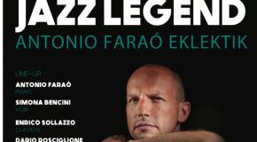 Concert Antonio Faraò au Forum Jorge François à 20h30 – 09/10/17