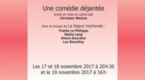 Mademoiselle Tapotock au théâtre de l'Impasse les 17, 18 et 19 novembre 2017