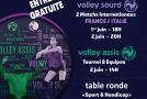 « PARA-VOLLEY À CANNES » – Un événement « AS Cannes Volley-Ball » –  01 et 02/06