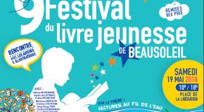 DP Beausoleil : Festival du Livre Jeunesse : 19/05 de 10h à 18h