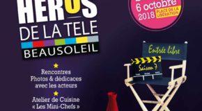 CP PARTENAIRE DU CLUB // BEAUSOLEIL : Beausoleil Les Héros de la TV – 06/10/18