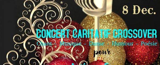 GRAND CONCERT CARITATIF – Un Noël d'amour pour Autisme France  – 08/12/18 – Espace Miramar à Cannes