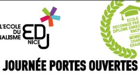 Journée Portes Ouvertes de l'Ecole Du Journalisme – 23/03/19 à Nice