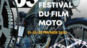 French Riviera Motorcycle Film Festival : Troisième édition du Festival du Film de Moto les 21/22/23 février 2020,  à l'Espace Magnan,  à Nice