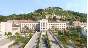CP MEMBRE DU CLUB : GCC RECONSTRUIT LE CENTRE HOSPITALIER SAINTE-MARIE NICE