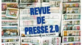 REVUE DE PRESSE 2.0 DE LA SEMAINE – 17 OCT. 2014