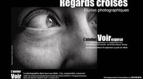INVITATION VERNISSAGE DE L'EXPOSITION «REGARDS CROISÉS» – 16/09