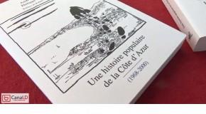 DÉDICACE TOME 4 UNE HISTOIRE POPULAIRE DE LA COTE D'AZUR PAR PHILIPPE JEROME ET ANDRE BAUDIN – 3/10 – 5/10