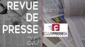Revue de presse 2.0 de la semaine – 11/09/20
