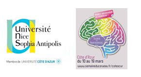 CP UNIVERSITE NICE SOPHIA ANTIPOLIS : Semaine du cerveau en Côte d'Azur : 10 >19 mars