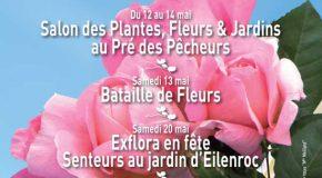 CP ville d'Antibes : les floralies 12>21/05/17