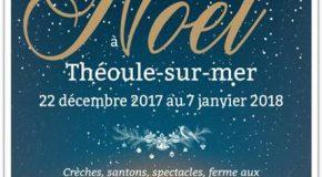CP OT THEOULE-SUR-MER : LA BALADE DE NOEL 22/12 > 07/01