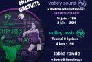 «PARA-VOLLEY À CANNES» – Un événement «AS Cannes Volley-Ball» –  01 et 02/06