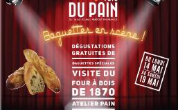 CP Office de tourisme de La Colle-sur-Loup : Un Four à Pain de 1870 en pierres de Biot